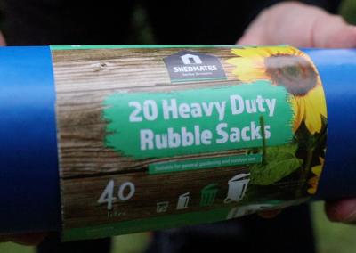 Shedmades Heavy Duty Rubble Sacks