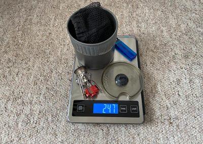 Weight: 247g