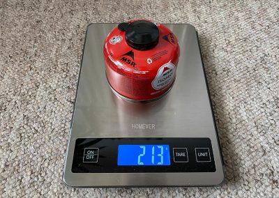 Weight: 213g