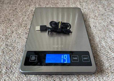 Weight: 19g