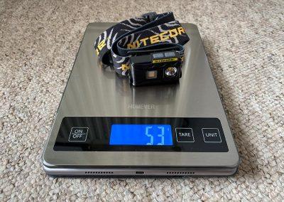 Weight: 53g