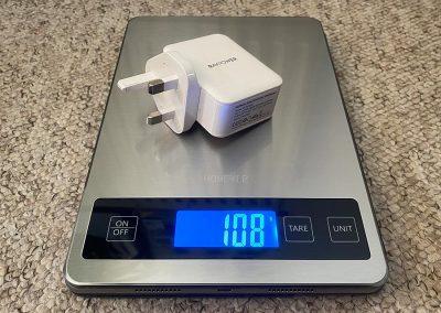 Weight: 108g
