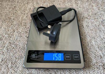 Weight: 158g