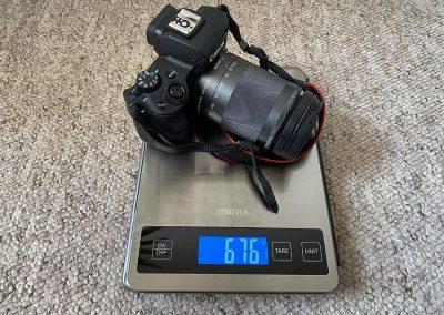 Weight: 676g