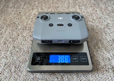 Controller weight: 388g
