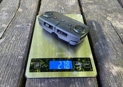 Controller weight: 278g