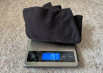 Top weight: 197g