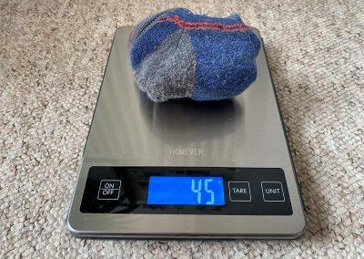 Weight: 45g