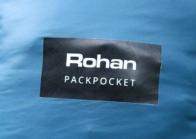 Pack pocket label