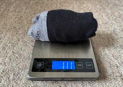 Weight: 111g