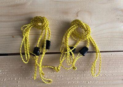 Pad attachment cords