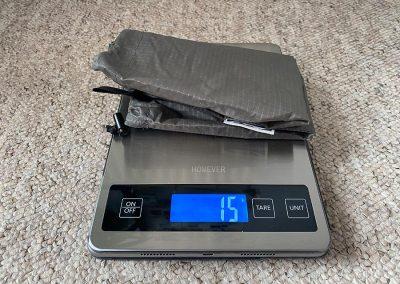 Stuff sack weight: 15g