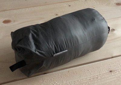 In stuff sack