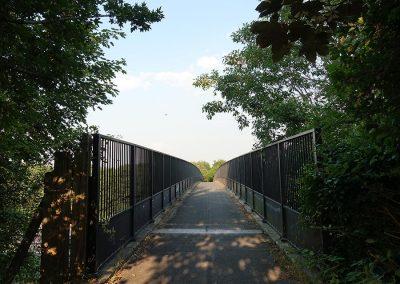 M3 pedestrian bridge