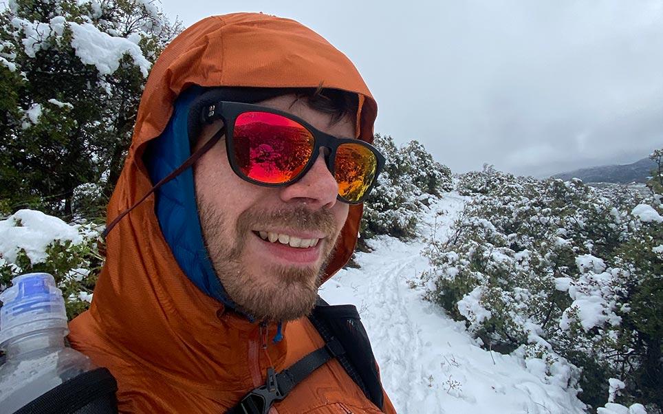 Day 2 – Snow in the desert